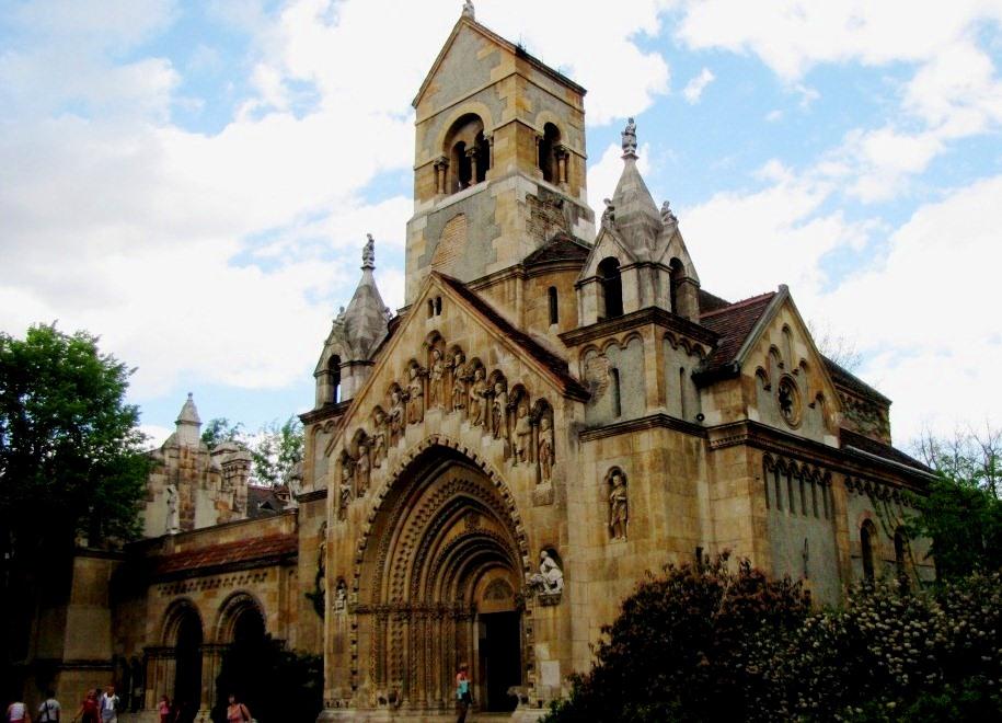 Копия часовни монастыря бернардинцев в городе Як