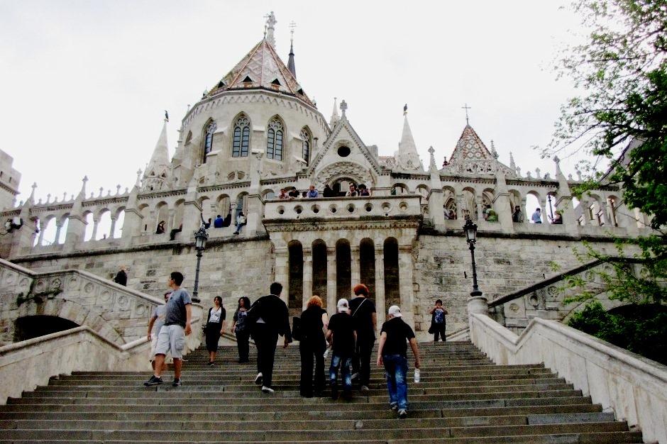Рыбацкий бастион и собор Святого Матяша