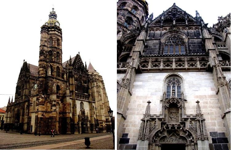 Собор Святой Альжбеты, 1380-1507