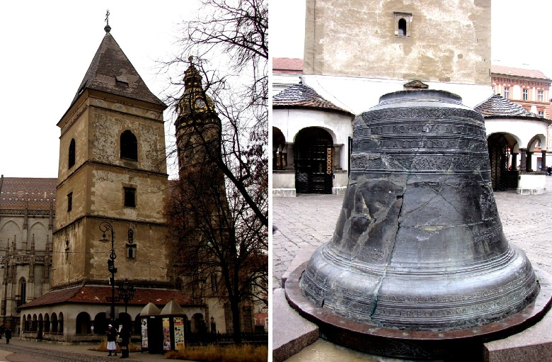 Урбанова вежа (XIV-XV вв.) и колокол Урбан (1557 г.)