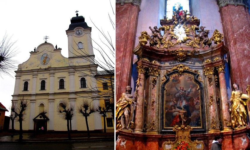 Костёл Святого Духа (миноритов), 1748-1755
