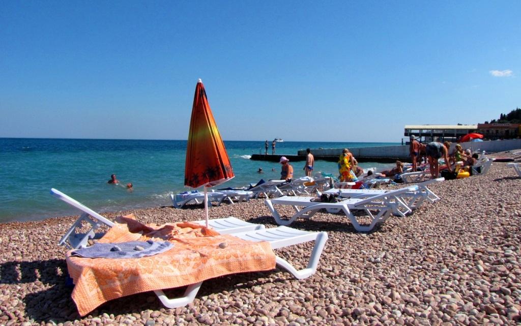 Гурзуфский пляж