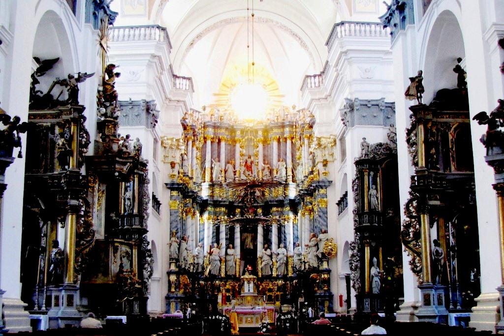 Костел Франциска Ксаверия всередине