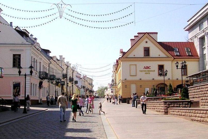 Улица Советская - самый уютный уголок Старого Города