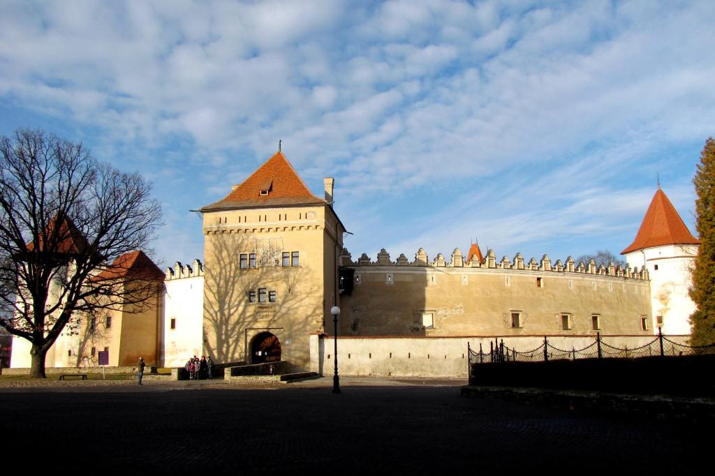 Кежмарский замок, XV-XVII вв.