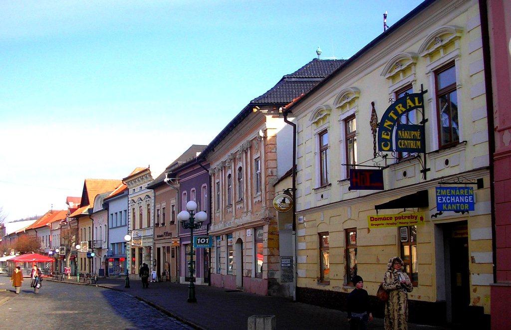 Главная площадь Кежмарока